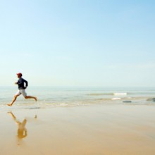 man-running-beach